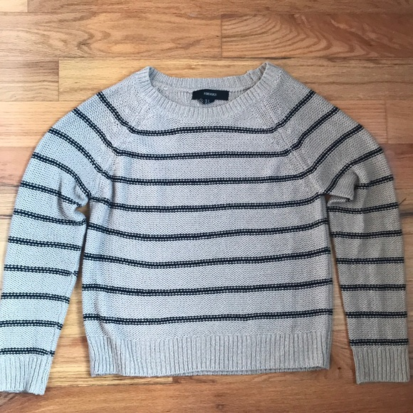 Forever 21 Sweaters - Stripped Knit sweater from forever 21